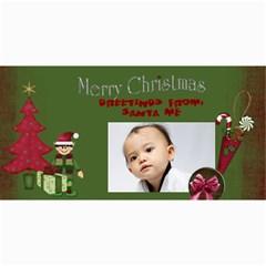 Custom 4  X 8  10 Christmas Photo Cards By J A N B   4  X 8  Photo Cards   Nplj08ynt70e   Www Artscow Com 8 x4 Photo Card - 3