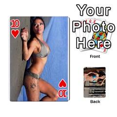 Bikini Cards By Kesma   Playing Cards 54 Designs   Kx3ygishvibr   Www Artscow Com Front - Heart10