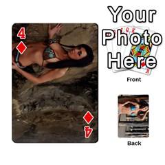 Bikini Cards By Kesma   Playing Cards 54 Designs   Kx3ygishvibr   Www Artscow Com Front - Diamond4