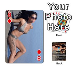 Bikini Cards By Kesma   Playing Cards 54 Designs   Kx3ygishvibr   Www Artscow Com Front - Diamond8