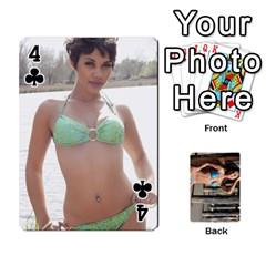 Bikini Cards By Kesma   Playing Cards 54 Designs   Kx3ygishvibr   Www Artscow Com Front - Club4