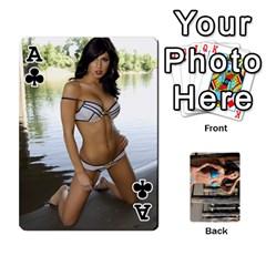 Ace Bikini Cards By Kesma   Playing Cards 54 Designs   Kx3ygishvibr   Www Artscow Com Front - ClubA