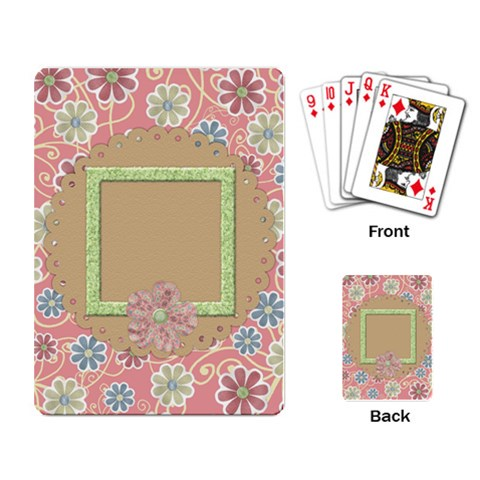 Pips Playing Cards 1 By Lisa Minor   Playing Cards Single Design   V0pfmmkvxe90   Www Artscow Com Back