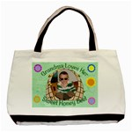 Grandma s Honey Bee Double Sided - Basic Tote Bag (Two Sides)