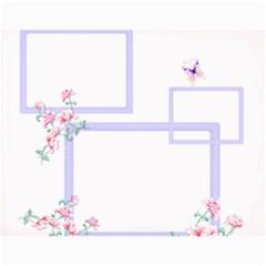 Flower Calendar By Wood Johnson   Wall Calendar 11  X 8 5  (12 Months)   Nncthkbwp072   Www Artscow Com Month