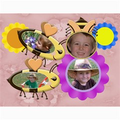Grandma Loves Her Sweet Honey Bee2 2011 By Chere s Creations   Wall Calendar 11  X 8 5  (12 Months)   5aaxfgqa7ona   Www Artscow Com Month