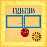 Friends 16x16 Canvas - Canvas 16  x 16