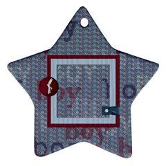 Small Fry 2 Sided Star Ornament By Lisa Minor   Star Ornament (two Sides)   646kjgjqo0qs   Www Artscow Com Front