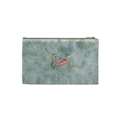 Winters Blessing Small Cosmetic Bag 1 By Lisa Minor   Cosmetic Bag (small)   560avr0mnpad   Www Artscow Com Back