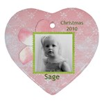 Sage 2010 - Ornament (Heart)