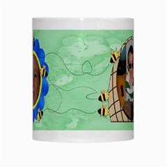 Grandma s Sweet Honey Bees Mug Green 2 By Chere s Creations   White Mug   Diunve25idar   Www Artscow Com Center