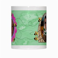 Grandma s Sweet Honey Bees Mug Green 3 By Chere s Creations   White Mug   Ueyygu2mfnzi   Www Artscow Com Center