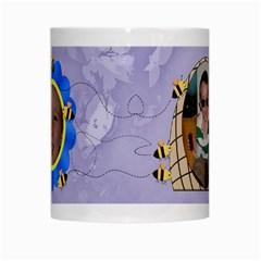 Grandma s Sweet Honey Bees Mug Purple 2 By Chere s Creations   White Mug   Hl167pavo9w4   Www Artscow Com Center