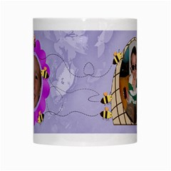 Grandma s Sweet Honey Bees Mug Purple 3 By Chere s Creations   White Mug   Rex9yu611g7t   Www Artscow Com Center