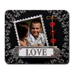 Elegant Love Large Mousepad