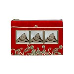 Triple Trouble Liquid Gold Cosmetic Bag Medium - Cosmetic Bag (Medium)