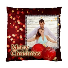 Love Christmas By Wood Johnson   Standard Cushion Case (two Sides)   V1e4qw4pnpu6   Www Artscow Com Front