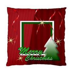Christmas By Clince   Standard Cushion Case (two Sides)   Mjk71zwsknn9   Www Artscow Com Back