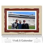 12 Month Holiday Calendar - Wall Calendar 11  x 8.5  (12-Months)