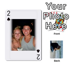 Carlie And Jaramie Playing Cards By Doug Trimble   Playing Cards 54 Designs   X3yel3w17k9x   Www Artscow Com Front - Spade2