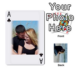 Ace Carlie And Jaramie Playing Cards By Doug Trimble   Playing Cards 54 Designs   X3yel3w17k9x   Www Artscow Com Front - ClubA