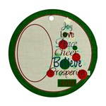 Christmas Inspiration Tree - Ornament (Round)