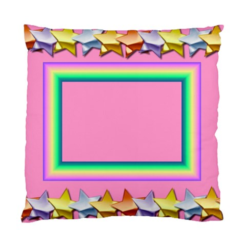 Party Pillow By Daniela   Standard Cushion Case (one Side)   U9maqnnf5ilh   Www Artscow Com Front