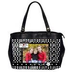 Grandma Purse - Oversize Office Handbag (2 Sides)