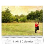 calendar eliza var finala 1 - Wall Calendar 11  x 8.5  (12-Months)