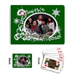 Playing Cards Single Design Template Christmas