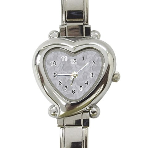 Heart Watch Sliver By Chere s Creations   Heart Italian Charm Watch   T25wo2cn80bm   Www Artscow Com Front