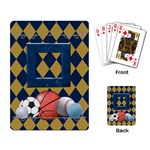 Games We Play Playing Cards 1 - Playing Cards Single Design