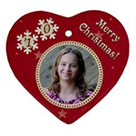 2011 Christmas - Heart Ornament (Two Sides)