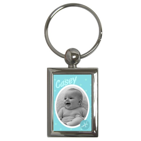 Rectangle Keychain Baby Boy By Laurrie   Key Chain (rectangle)   Ne3lk0mobn4n   Www Artscow Com Front
