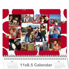 Me Me Me By Brittany    Wall Calendar 11  X 8 5  (12 Months)   9418c5qqwtvr   Www Artscow Com Cover