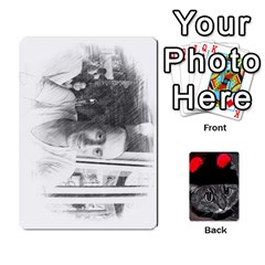 Me By Kristi Miller   Playing Cards 54 Designs   Uzqqlmfctzc4   Www Artscow Com Front - Spade4