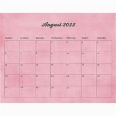 Pinky Green 2015 Calendar By Mikki   Wall Calendar 11  X 8 5  (18 Months)   Sxom74hcx8nr   Www Artscow Com Aug 2018