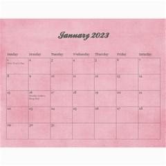 Pinky Green 2015 Calendar By Mikki   Wall Calendar 11  X 8 5  (18 Months)   Sxom74hcx8nr   Www Artscow Com Jan 2018