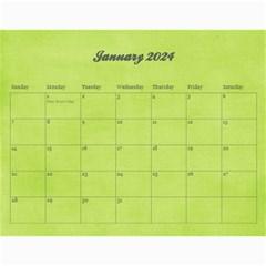 Pinky Green 2015 Calendar By Mikki   Wall Calendar 11  X 8 5  (18 Months)   Sxom74hcx8nr   Www Artscow Com Jan 2019