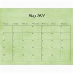 Pinky Green 2015 Calendar By Mikki   Wall Calendar 11  X 8 5  (18 Months)   Sxom74hcx8nr   Www Artscow Com May 2019
