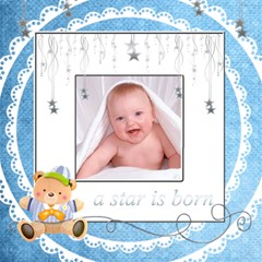 Catvinnat s Baby Boy Scrapbook Pages 12 X 12 By Catvinnat   Scrapbook Page 12  X 12    L6pbncrwjm92   Www Artscow Com 12 x12 Scrapbook Page - 1