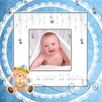 Catvinnat s Baby Boy Scrapbook Pages 12 x 12 - ScrapBook Page 12  x 12