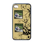 liquid gold i phone case - Apple iPhone 4 Case (Black)
