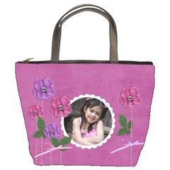 Custom Bucket Bag  Flowers For You By Jennyl   Bucket Bag   Wgzhb0onsfk4   Www Artscow Com Front