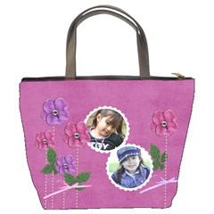 Custom Bucket Bag  Flowers For You By Jennyl   Bucket Bag   Wgzhb0onsfk4   Www Artscow Com Back