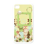 Spring Blossoms IPhone Case 1 - Apple iPhone 4 Case (White)