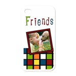 Friends colors - i-PHONE case - Apple iPhone 4 Case (White)