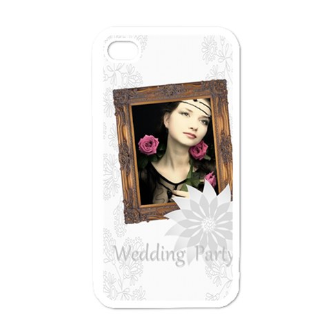 Wedding By Joely   Apple Iphone 4 Case (white)   Tc62expm2a13   Www Artscow Com Front