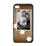 Iphone 4 vintage case - Apple iPhone 4 Case (Black)