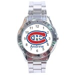 watch for sherri - Andrew - Stainless Steel Analogue Watch